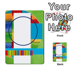 Flash Cards Abc By Brookieadkins Yahoo Com   Multi Purpose Cards (rectangle)   Sozoljc264mq   Www Artscow Com Back 54