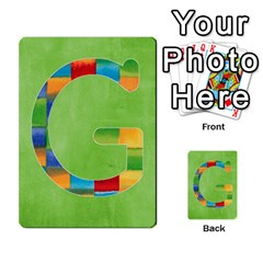 Flash Cards Abc By Brookieadkins Yahoo Com   Multi Purpose Cards (rectangle)   Sozoljc264mq   Www Artscow Com Front 7