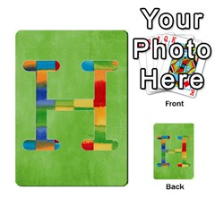 Flash Cards Abc By Brookieadkins Yahoo Com   Multi Purpose Cards (rectangle)   Sozoljc264mq   Www Artscow Com Front 8