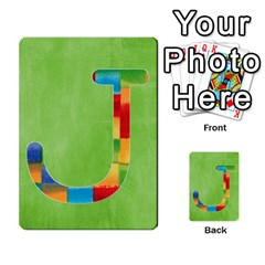 Flash Cards Abc By Brookieadkins Yahoo Com   Multi Purpose Cards (rectangle)   Sozoljc264mq   Www Artscow Com Front 10