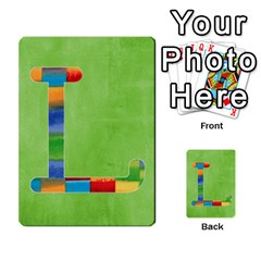 Flash Cards Abc By Brookieadkins Yahoo Com   Multi Purpose Cards (rectangle)   Sozoljc264mq   Www Artscow Com Front 11