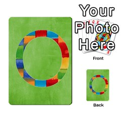 Flash Cards Abc By Brookieadkins Yahoo Com   Multi Purpose Cards (rectangle)   Sozoljc264mq   Www Artscow Com Front 15
