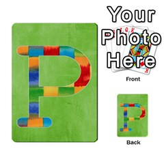 Flash Cards Abc By Brookieadkins Yahoo Com   Multi Purpose Cards (rectangle)   Sozoljc264mq   Www Artscow Com Front 16