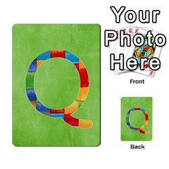 Flash Cards Abc By Brookieadkins Yahoo Com   Multi Purpose Cards (rectangle)   Sozoljc264mq   Www Artscow Com Front 17