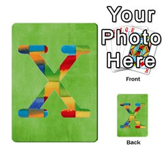 Flash Cards Abc By Brookieadkins Yahoo Com   Multi Purpose Cards (rectangle)   Sozoljc264mq   Www Artscow Com Front 24