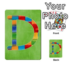 Flash Cards Abc By Brookieadkins Yahoo Com   Multi Purpose Cards (rectangle)   Sozoljc264mq   Www Artscow Com Front 4