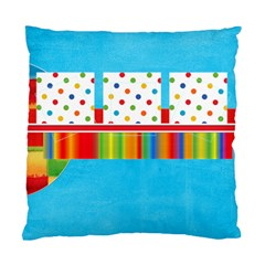 Bright Day Sun Pillow  By Brookieadkins Yahoo Com   Standard Cushion Case (two Sides)   Blcs4kahjmq1   Www Artscow Com Back