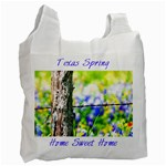 TX Home Sweet Home Singleside - Recycle Bag (One Side)