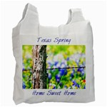 TX Spring *Blue - Recycle Bag (One Side)