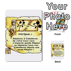 El Grande Cartes Actions En Francais By Plastic77   Multi Purpose Cards (rectangle)   Flvmm9alswjy   Www Artscow Com Front 1