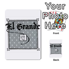 El Grande Cartes Actions En Francais By Plastic77   Multi Purpose Cards (rectangle)   Flvmm9alswjy   Www Artscow Com Back 6