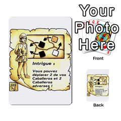 El Grande Cartes Actions En Francais By Plastic77   Multi Purpose Cards (rectangle)   Flvmm9alswjy   Www Artscow Com Front 7