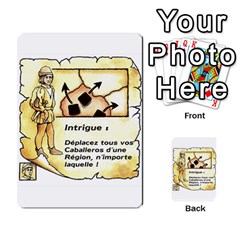 El Grande Cartes Actions En Francais By Plastic77   Multi Purpose Cards (rectangle)   Flvmm9alswjy   Www Artscow Com Front 9