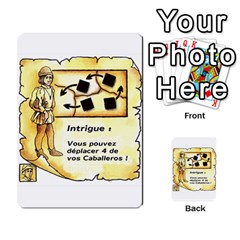El Grande Cartes Actions En Francais By Plastic77   Multi Purpose Cards (rectangle)   Flvmm9alswjy   Www Artscow Com Front 10