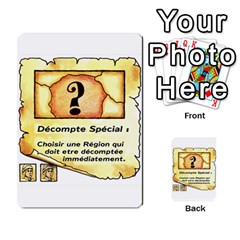 El Grande Cartes Actions En Francais By Plastic77   Multi Purpose Cards (rectangle)   Flvmm9alswjy   Www Artscow Com Front 16