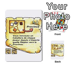 El Grande Cartes Actions En Francais By Plastic77   Multi Purpose Cards (rectangle)   Flvmm9alswjy   Www Artscow Com Front 18