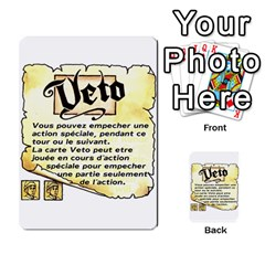 El Grande Cartes Actions En Francais By Plastic77   Multi Purpose Cards (rectangle)   Flvmm9alswjy   Www Artscow Com Front 21