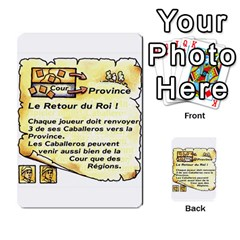 El Grande Cartes Actions En Francais By Plastic77   Multi Purpose Cards (rectangle)   Flvmm9alswjy   Www Artscow Com Front 22
