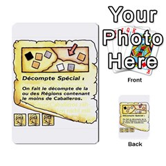 El Grande Cartes Actions En Francais By Plastic77   Multi Purpose Cards (rectangle)   Flvmm9alswjy   Www Artscow Com Front 23
