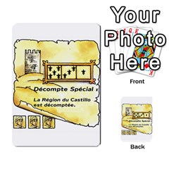 El Grande Cartes Actions En Francais By Plastic77   Multi Purpose Cards (rectangle)   Flvmm9alswjy   Www Artscow Com Front 25