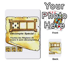 El Grande Cartes Actions En Francais By Plastic77   Multi Purpose Cards (rectangle)   Flvmm9alswjy   Www Artscow Com Front 28