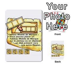 El Grande Cartes Actions En Francais By Plastic77   Multi Purpose Cards (rectangle)   Flvmm9alswjy   Www Artscow Com Front 36