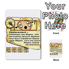 El Grande Cartes Actions En Francais By Plastic77   Multi Purpose Cards (rectangle)   Flvmm9alswjy   Www Artscow Com Front 41