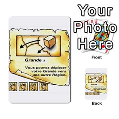 El Grande Cartes Actions En Francais By Plastic77   Multi Purpose Cards (rectangle)   Flvmm9alswjy   Www Artscow Com Front 42