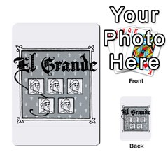 El Grande Cartes Actions En Francais By Plastic77   Multi Purpose Cards (rectangle)   Flvmm9alswjy   Www Artscow Com Back 45