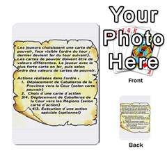 El Grande Cartes Actions En Francais By Plastic77   Multi Purpose Cards (rectangle)   Flvmm9alswjy   Www Artscow Com Front 47