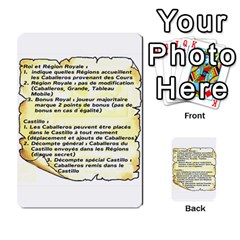 El Grande Cartes Actions En Francais By Plastic77   Multi Purpose Cards (rectangle)   Flvmm9alswjy   Www Artscow Com Back 48