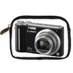 Lumix Zebra Camera Case - Digital Camera Leather Case