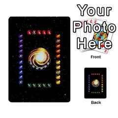 Constellations By Jack Reda   Multi Purpose Cards (rectangle)   3vdrcgmf0z70   Www Artscow Com Front 9