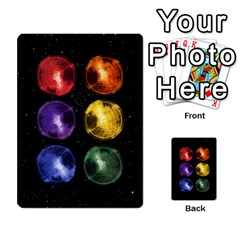Constellations By Jack Reda   Multi Purpose Cards (rectangle)   3vdrcgmf0z70   Www Artscow Com Back 2