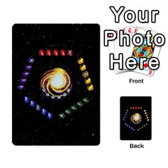 Constellations By Jack Reda   Multi Purpose Cards (rectangle)   3vdrcgmf0z70   Www Artscow Com Front 33