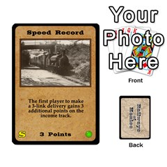 Railways Of Mexico By Jason Spears   Playing Cards 54 Designs   Ul32pendiio5   Www Artscow Com Front - Spade4