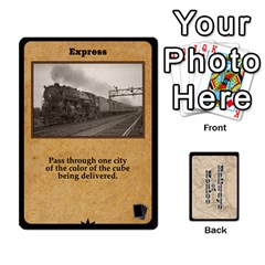 King Railways Of Mexico By Jason Spears   Playing Cards 54 Designs   Ul32pendiio5   Www Artscow Com Front - ClubK