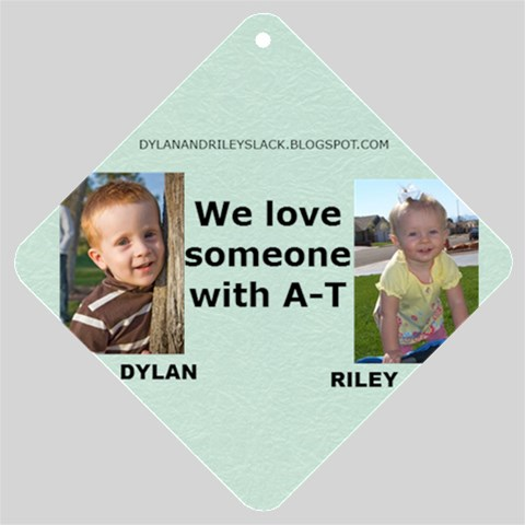 Car Sign Dylan And Riley By Nancy   Car Window Sign   Io68b6pdfybq   Www Artscow Com Front