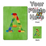 Boys ABC cards ,flash and memory game  - Multi-purpose Cards (Rectangle)