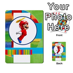 Boys Abc Cards ,flash And Memory Game  By Brookieadkins Yahoo Com   Multi Purpose Cards (rectangle)   Yc23agrgdra9   Www Artscow Com Back 1