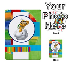 Boys Abc Cards ,flash And Memory Game  By Brookieadkins Yahoo Com   Multi Purpose Cards (rectangle)   Yc23agrgdra9   Www Artscow Com Back 52