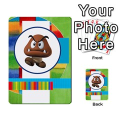 Boys Abc Cards ,flash And Memory Game  By Brookieadkins Yahoo Com   Multi Purpose Cards (rectangle)   Yc23agrgdra9   Www Artscow Com Front 53
