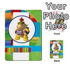 Boys Abc Cards ,flash And Memory Game  By Brookieadkins Yahoo Com   Multi Purpose Cards (rectangle)   Yc23agrgdra9   Www Artscow Com Back 7