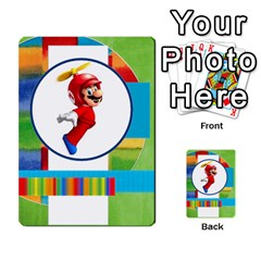 Boys Abc Cards ,flash And Memory Game  By Brookieadkins Yahoo Com   Multi Purpose Cards (rectangle)   Yc23agrgdra9   Www Artscow Com Back 27