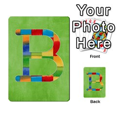Boys Abc Cards ,flash And Memory Game  By Brookieadkins Yahoo Com   Multi Purpose Cards (rectangle)   Yc23agrgdra9   Www Artscow Com Front 28