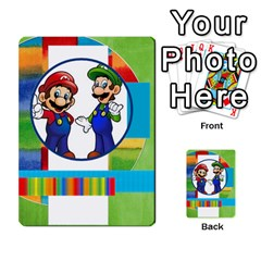 Boys Abc Cards ,flash And Memory Game  By Brookieadkins Yahoo Com   Multi Purpose Cards (rectangle)   Yc23agrgdra9   Www Artscow Com Back 37