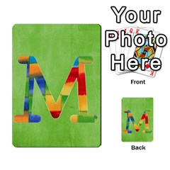 Boys Abc Cards ,flash And Memory Game  By Brookieadkins Yahoo Com   Multi Purpose Cards (rectangle)   Yc23agrgdra9   Www Artscow Com Front 39