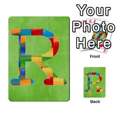 Boys Abc Cards ,flash And Memory Game  By Brookieadkins Yahoo Com   Multi Purpose Cards (rectangle)   Yc23agrgdra9   Www Artscow Com Front 44