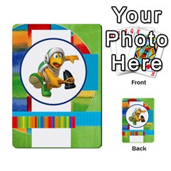 Boys Abc Cards ,flash And Memory Game  By Brookieadkins Yahoo Com   Multi Purpose Cards (rectangle)   Yc23agrgdra9   Www Artscow Com Back 44