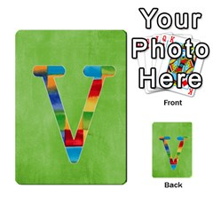 Boys Abc Cards ,flash And Memory Game  By Brookieadkins Yahoo Com   Multi Purpose Cards (rectangle)   Yc23agrgdra9   Www Artscow Com Front 48